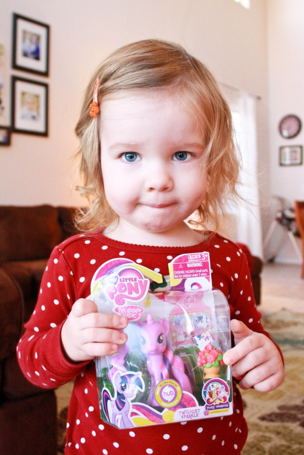Her one wish...a My Little Pony!
