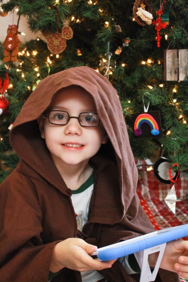 A happy Jedi!